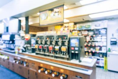 photo of beverage machines