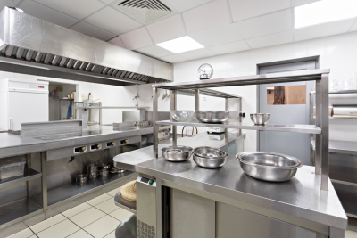 kitchen with cooking equipment