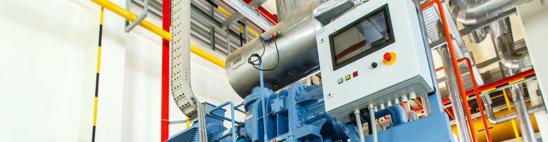 compressor refrigeration at manufacture building